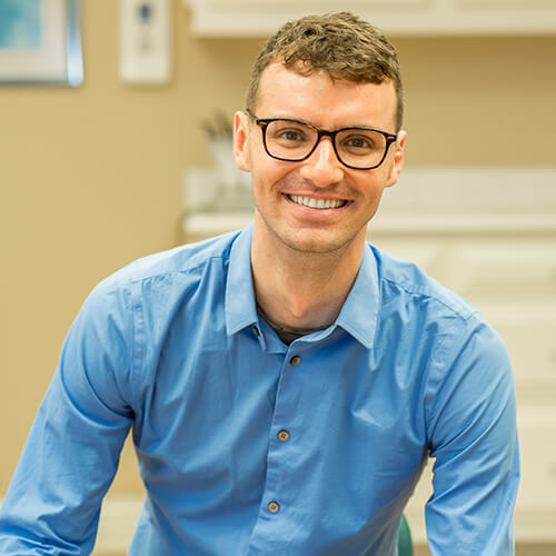 Dr. Josiah Rich who is an orthodontist in Dunn, NC and the owner of Skyblue Orthodontics