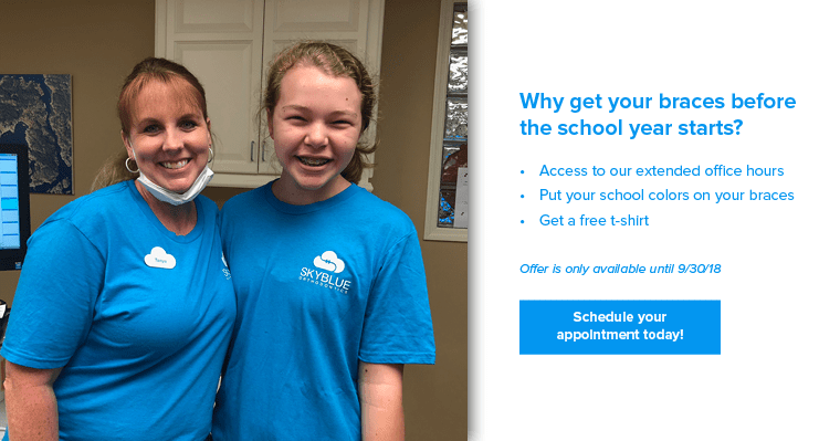 Details of Skyblue Othodontics Back-to-school promotion